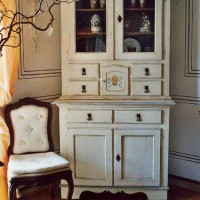 Hand Decorated Cabinet