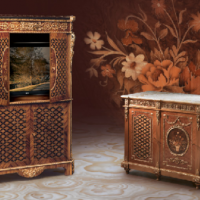 Inlay Fratelli Cabinet and Chest