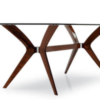 Mahogany Saarinen Table