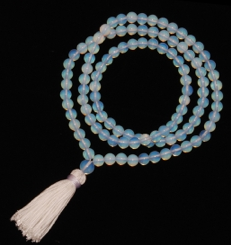 Moonstone Mala Prayer Beads