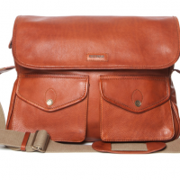 Moroccan Leather Travel Bag