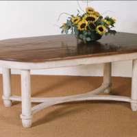 Oval Lesley Table