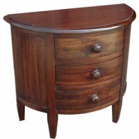 Round Front Night Stand
