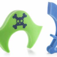 Sponge Pirate Bath Toys
