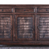 Trefoil Shuttered Buffet