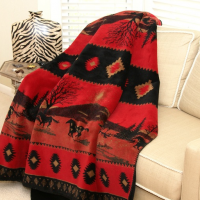 Western Fleece Blanket