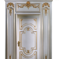 White Fratelli Door and Surround
