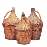 Wicker Jugs