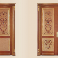 Wood Inlay Fratelli Doors