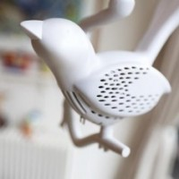 A Little Bird Smoke Detector white