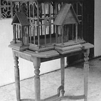 Birdcage and Stand