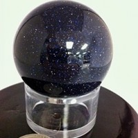Blue Goldstone Sphere