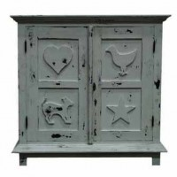 Carved Children's Cabinet
