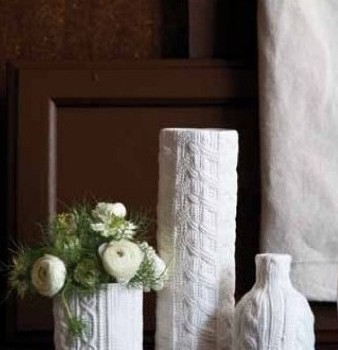 Ceramic Sweater Vases
