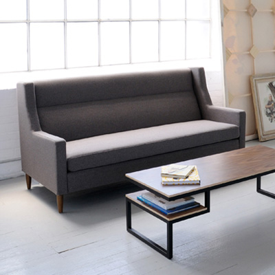 Citron Sofa, grey