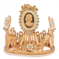 Crown, cameo