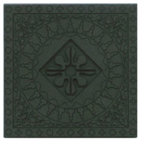 Earthy Green Moroccan Tile