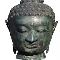 Enlightenment Buddha Head