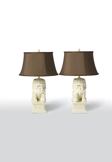 Foo Dog Table Lamps