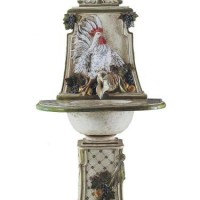 French Rooster Fountain