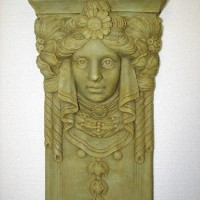 Garden Maiden Plaque