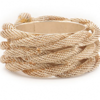 Gold Rope Napkin Ring