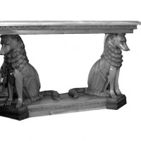 Guard Dog Side Table