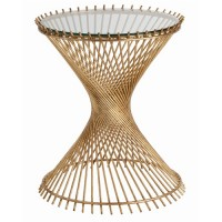 Hourglass Table