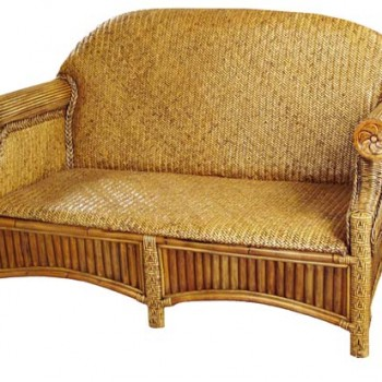 Indonesian Woven Couch