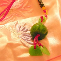Jade Lotus Unexpected Miracles Charm