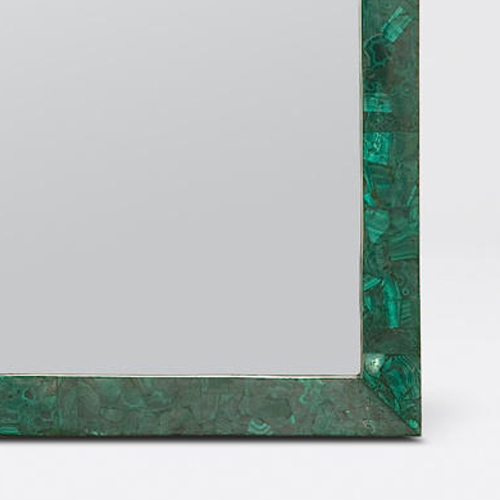 Malachite Mirror detail