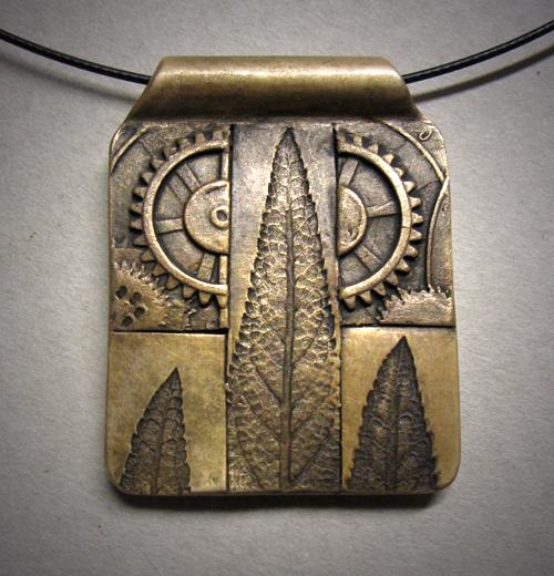 Nature's Steampunk Pendant