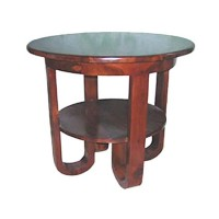 Rounded Foot Side Table