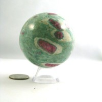 Ruby in Fuchsite Sphere