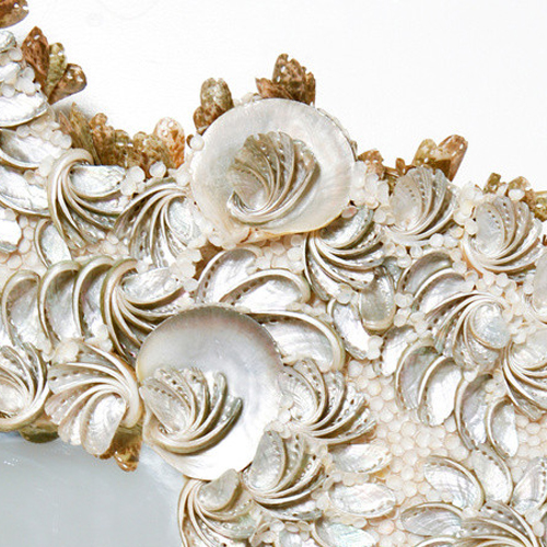 Sea Rose Mirror detail