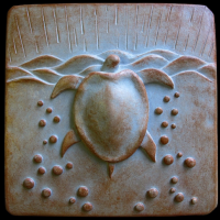 Sea Turtle Plaque