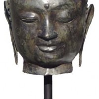 Smiling Buddha Head