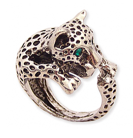Snow Leopard Ring
