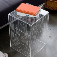 Timber Accent Table