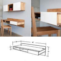 Wall-Mounted Desk