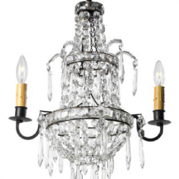 2 Light French Chandelier