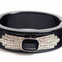 Art Deco Hinge Bangle
