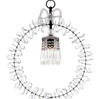 Bow Top Chandelier