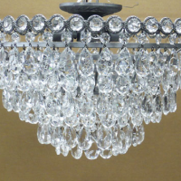 Crystal Teardrop Chandelier