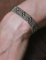 Diamond Mesh Cuff, small