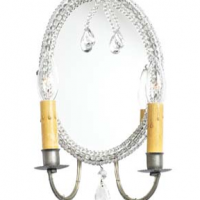 French Mirror Sconce