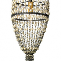 French Pearl Chandelier