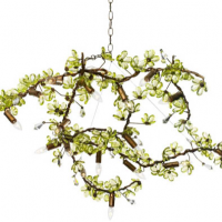 Fresh Green Bough Chandelier