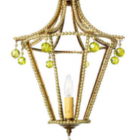 Fresh Lime Pagoda Chandelier