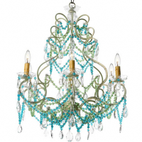 Italian Beach House Chandelier